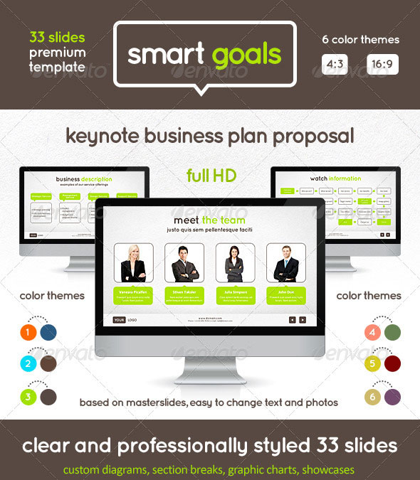Smart Goals Keynote Template