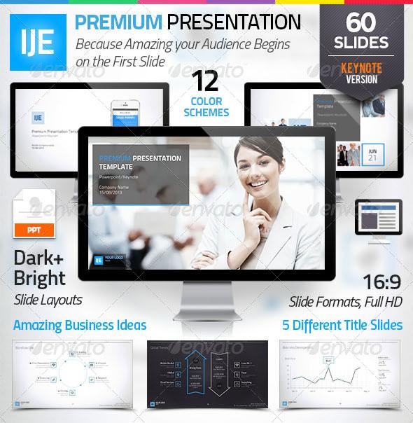 IJE – Premium Keynote Template