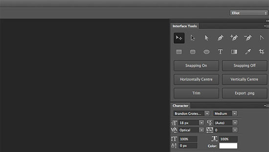 Interface Tools Photoshop Plugin