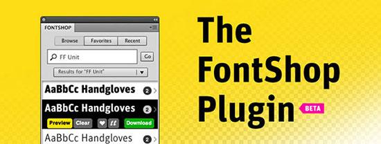 The FontShop Plugin