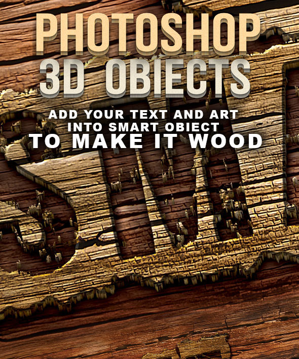 photoshop-3d-wood-text