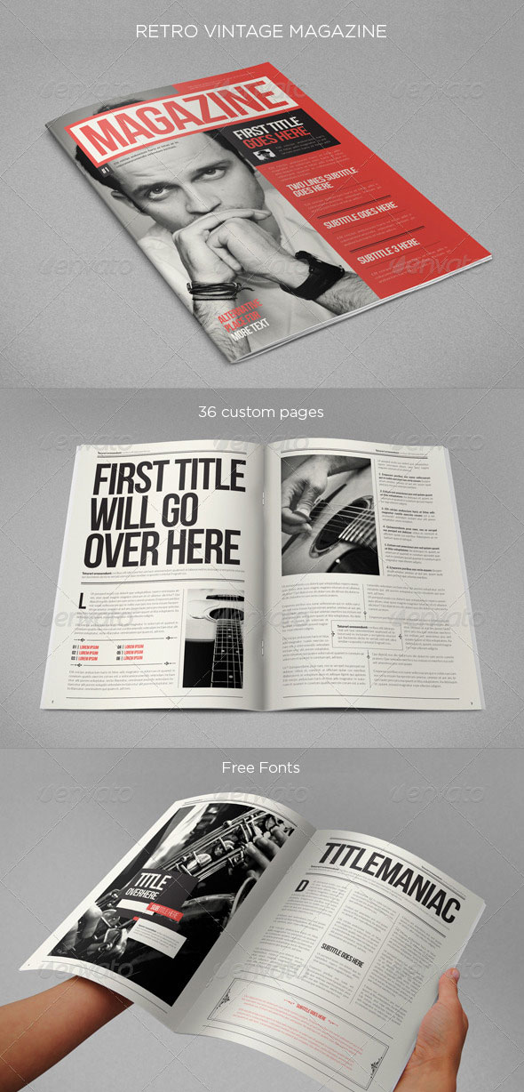 20 amazing indesign magazine layout cover design