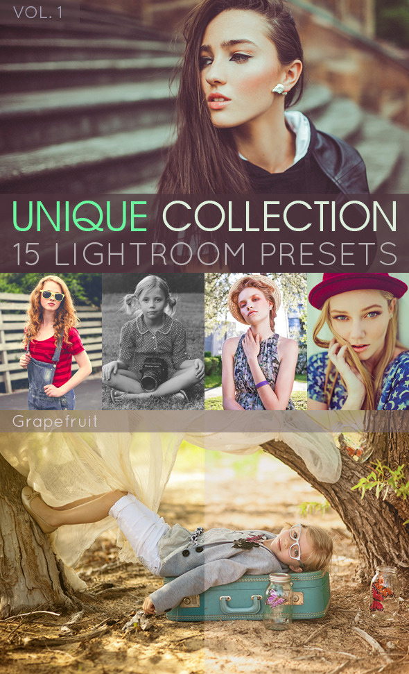 Unique Lightroom Presets Vol. 1