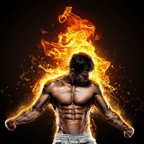20 Dazzling Fire & Water Effect Photoshop Actions