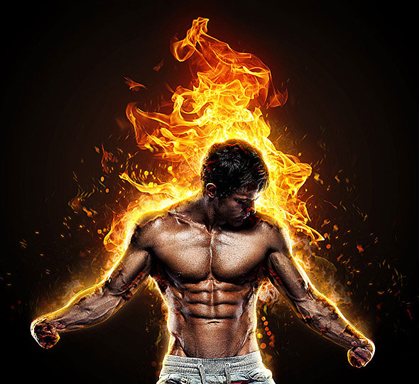 20 Dazzling Fire & Water Effect Photoshop Actions | Pixel ...