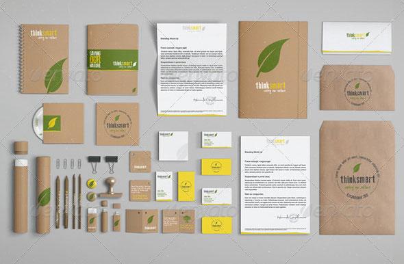 Branding / Identity Mock-Up – Recycled Version