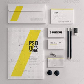 20 Best PSD Branding Mockup Design Templates
