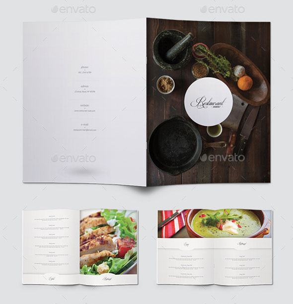 Elegant Food Menu 18