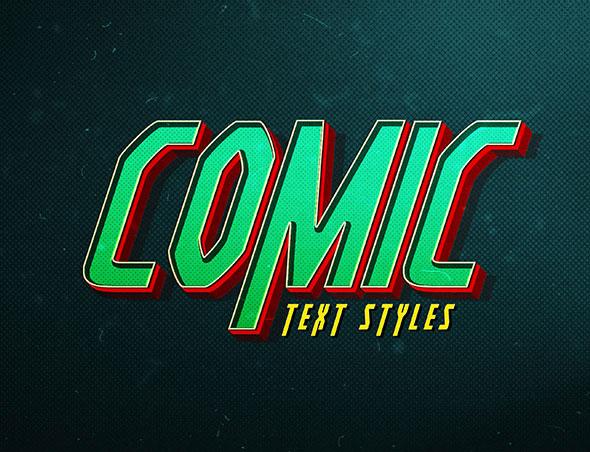 Comic Text FX V1