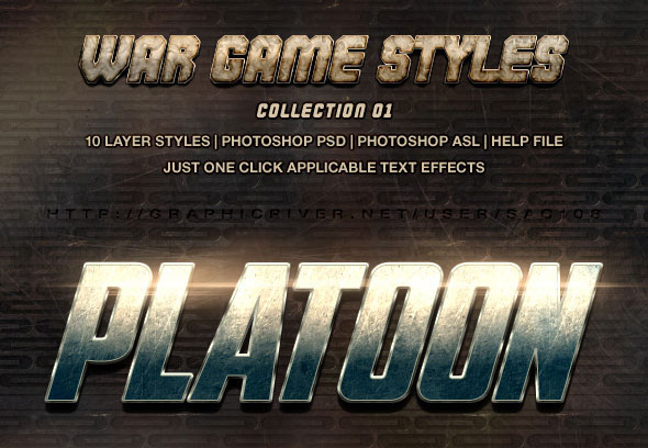 War Game Styles - Collection 1
