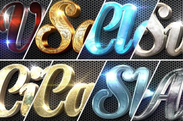 New 3D Collection Text Effects Bundle