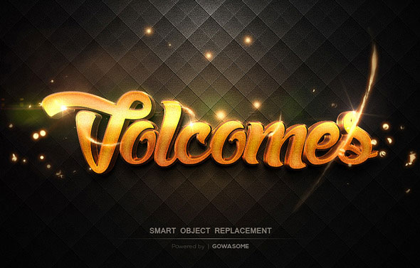Modern 3D Text Effects GO.4