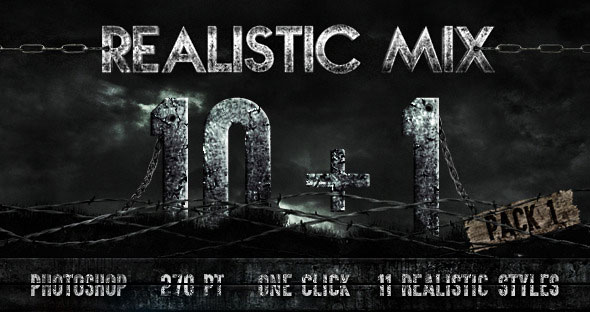 10+1 Realistic Styles Pack #1