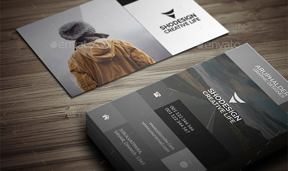 Modern Photography Business Card Design Templates Pixel Curse - Photography business card templates