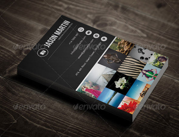 Creative Photographer Business Card - 13