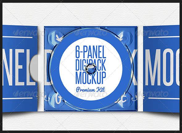 Digipak CD Mockup - Premium Kit