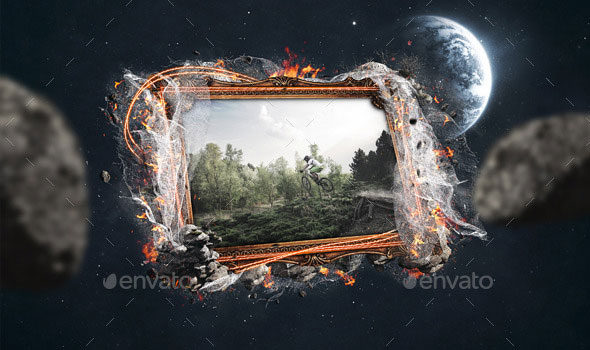 Artistic Photoframe Template V.1
