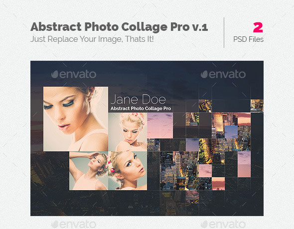 Abstract Photo Collage Pro v.1