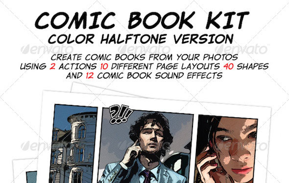 Comic Book Creation Kit