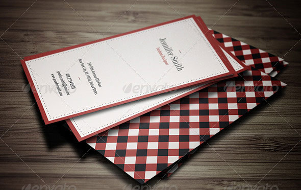 Minimal Retro Business Card