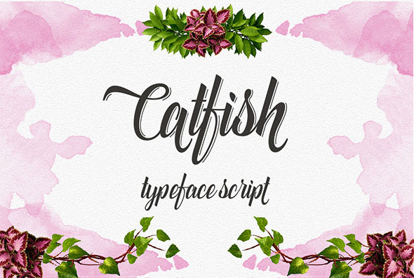 CatFish Font Script