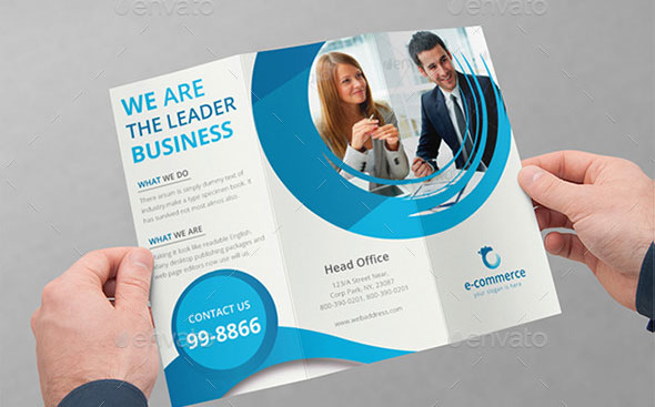 software product brochure template - 45 best psd tri fold brochure templates pixel curse