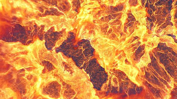 Fire Explosion Logo Reveal II