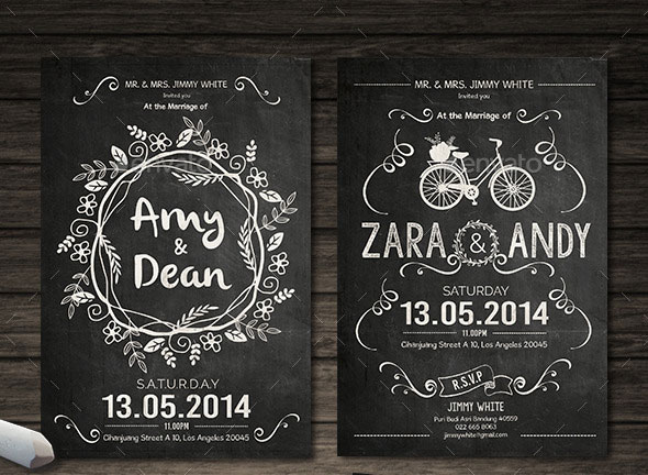 Unique  Beautiful Wedding Invitation Designs  Pixel Curse