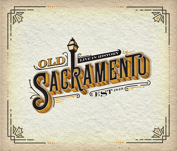 Old Sacramento Logo Design