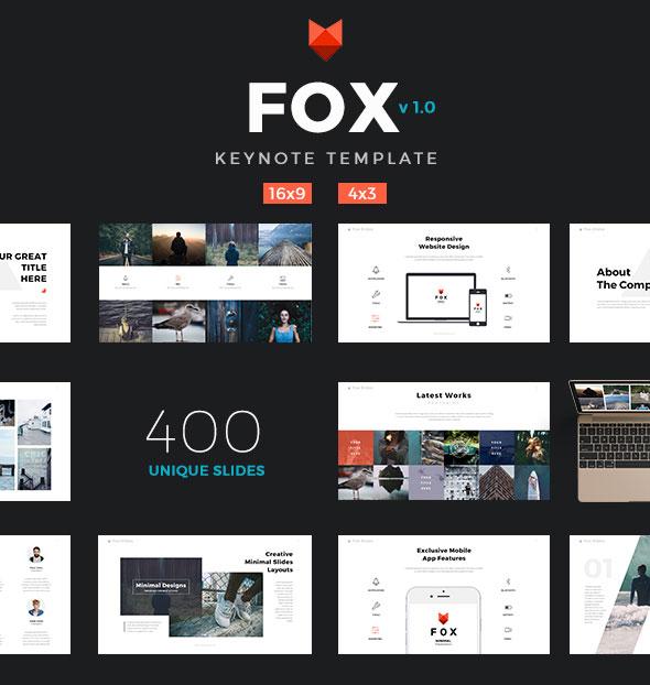 Fox - Ultimate Keynote Template