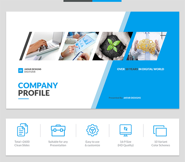 Template web company profile images template design ideas for Company profile after effects templates free download