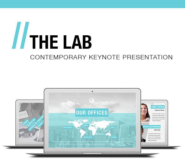 THE LAB - Keynote Presentation Template