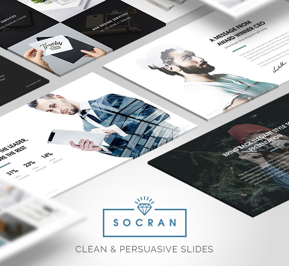 SOCRAN - Clean & Modern Keynote Template