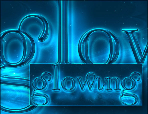 how to give text glow effect in photoshop