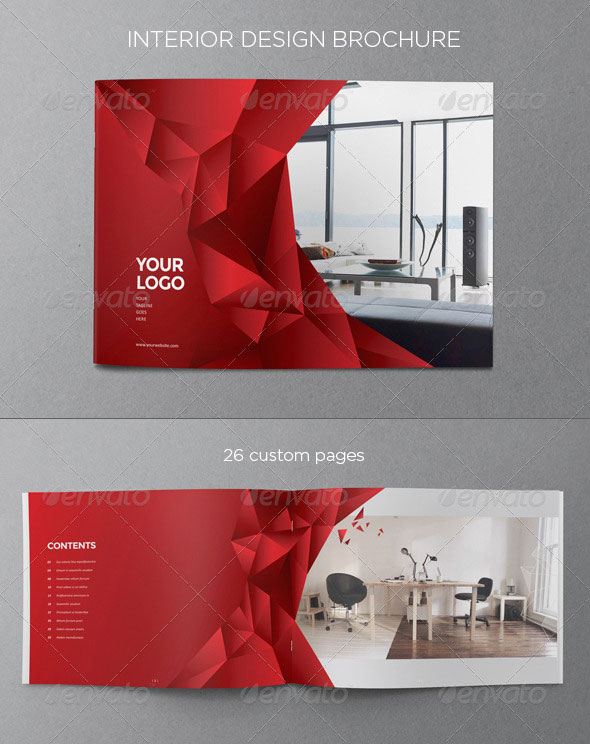 20 amazing interior design brochure templates pixel curse for Interior design layout templates