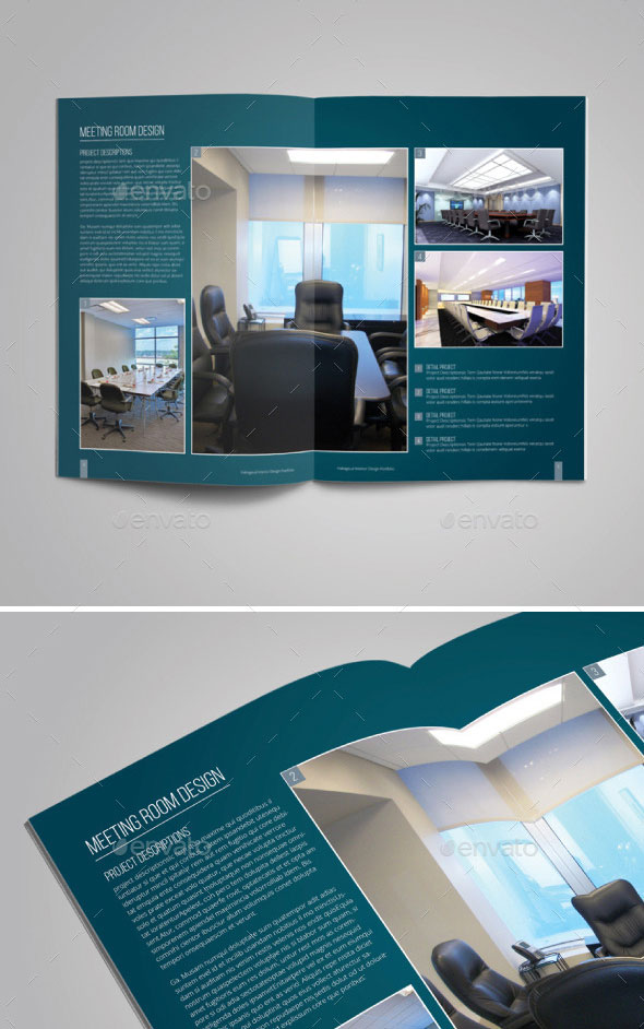 Amazing Interior Design Brochure Templates  Pixel Curse