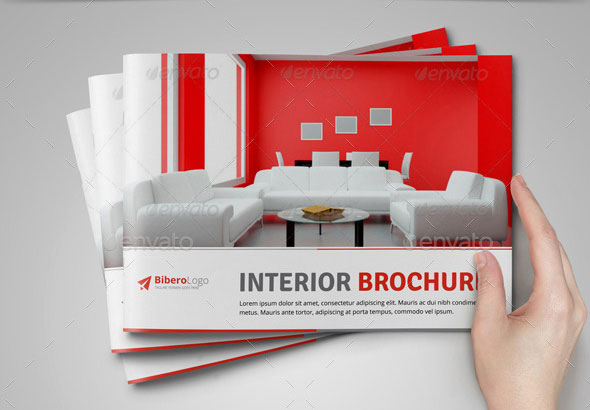 Interior Design Catalog & Trifold Brochure