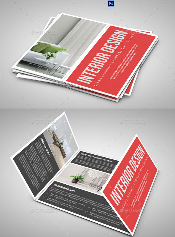 20 Amazing Interior Design Brochure Templates | Pixel Curse
