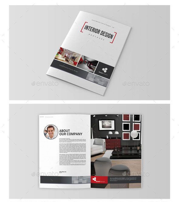 Interior Design Brochure/Catalog Vol.1