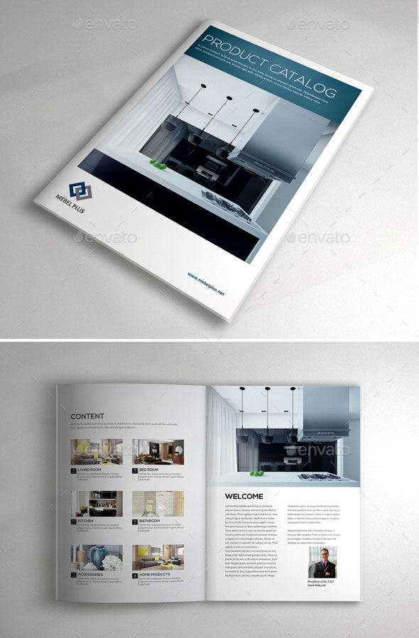 20 amazing interior design brochure templates pixel curse for Indesign interior