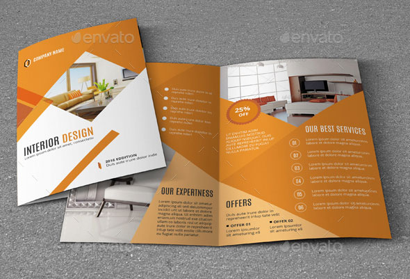 20 amazing interior design brochure templates pixel curse for Interior design brochure