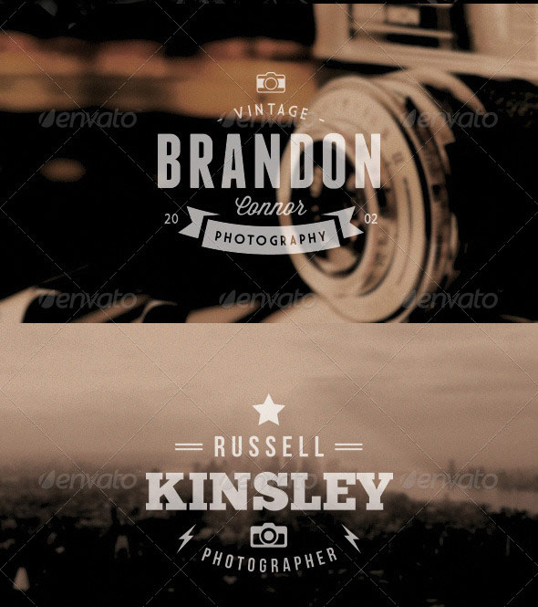 Vintage Photography Logo 01
