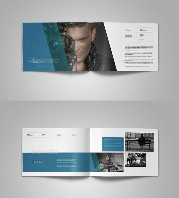 25 Awesome Portfolio Book Templates | Pixel Curse