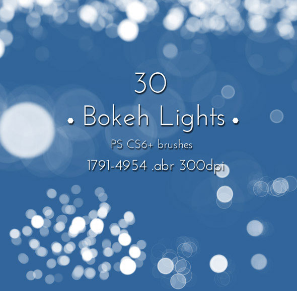Bokeh Lights Brushes