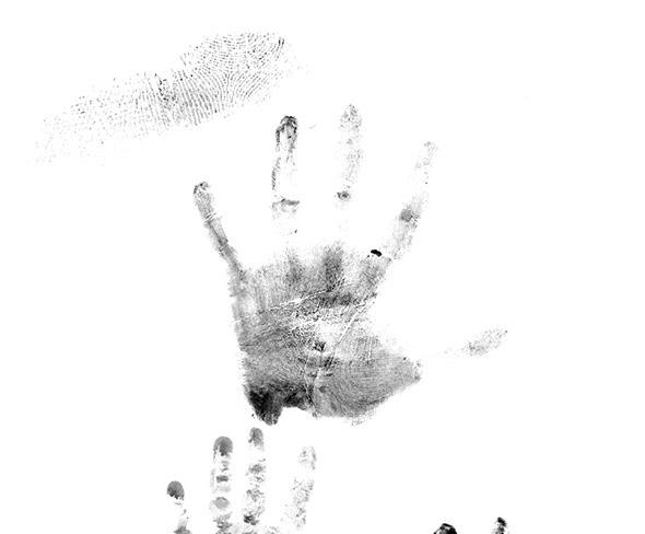 Palm Finger Print PS Brush