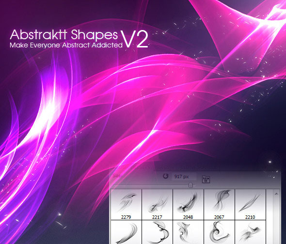 Abstraktt Shapes V2