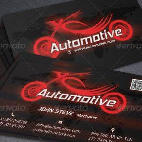 20 Best Automotive Business Card Design Templates