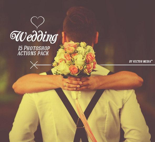 Wedding - Photoshop Actions