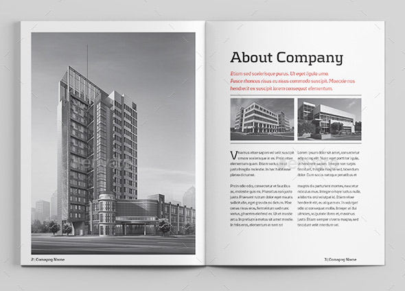 Case Study Booklet | Indesign Template