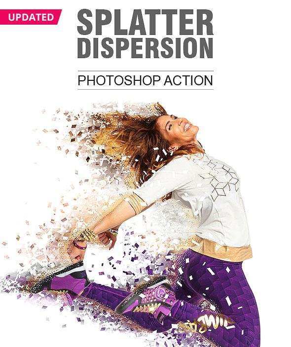 Splatter Dispersion 4 Effect in 1 Action